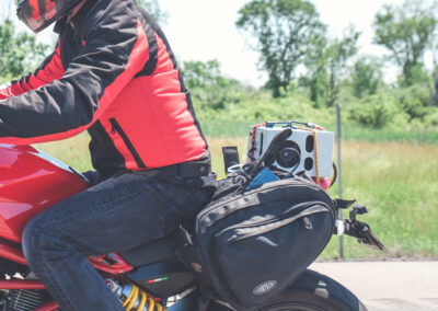 parSYNC® in use on motorcycle