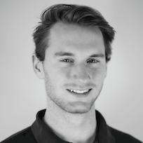 Adam Holzinger smiling