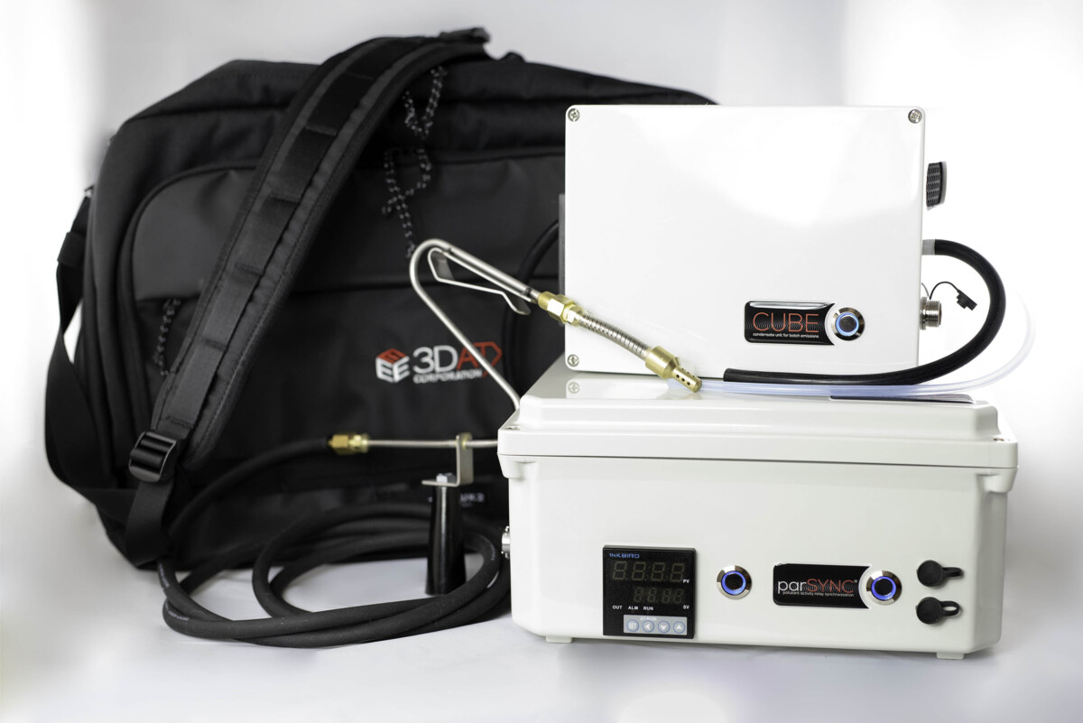 parSYNC® CUBE and 3DATX carry bag